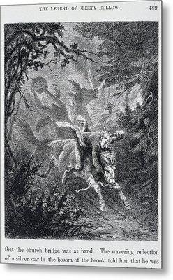 The Legend Of Sleepy Hollow Metal Print