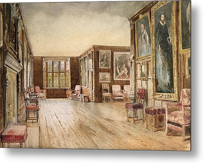 The Leicester Gallery, Knole House Metal Print