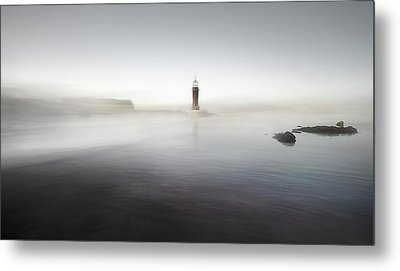 The Lighthouse Of Nowhere Metal Print