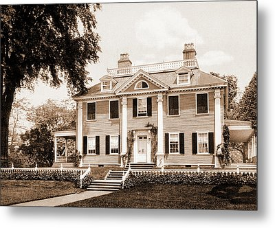 The Longfellow House, Cambridge, Longfellow, Henry Metal Print by Litz Collection