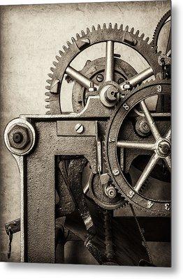 The Machine Metal Print by Martin Bergsma