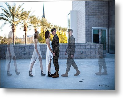 The Meet Metal Print by Bill Cantey