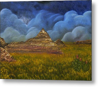 Metal Print featuring the painting The Mighty And The Tiny by The GYPSY And DEBBIE
