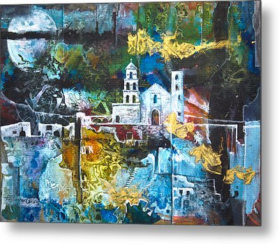 The Mission Metal Print by Patricia Allingham Carlson
