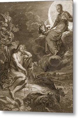 The Moon And Endymion, 1731 Metal Print
