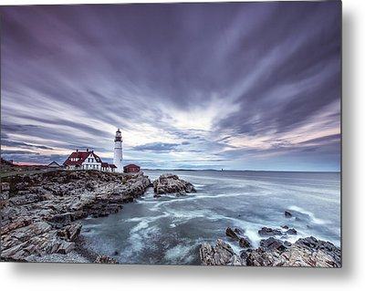The Motion Of Light Metal Print by Jon Glaser
