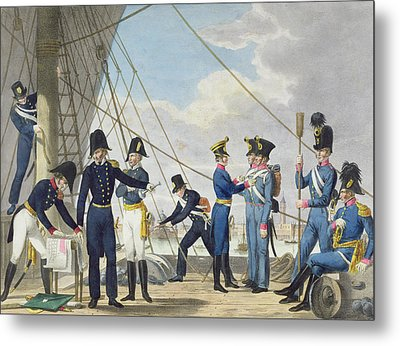 The New Imperial Royal Austrian Navy Metal Print