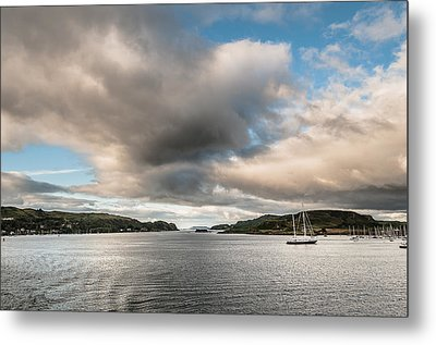 Metal Print featuring the photograph The Oban's Marina by Sergey Simanovsky