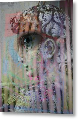 The Observer Metal Print
