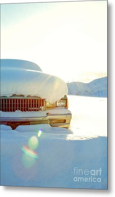 The Old Chevy Metal Print by Alanna DPhoto
