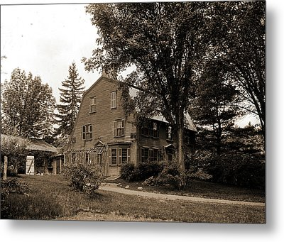The Old Manse, Concord, Massachusetts, Hawthorne Metal Print by Litz Collection