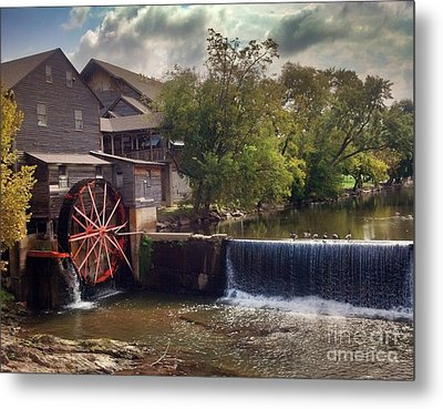 Metal Print featuring the photograph The Old Mill by Janice Spivey