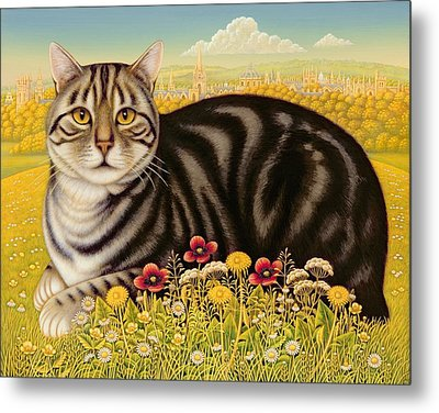The Oxford Cat Metal Print