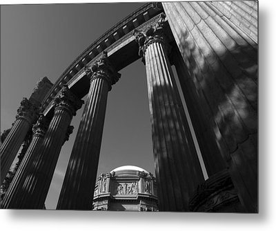The Palace Of Fine Arts In San Francisco Metal Print by Yue Wang