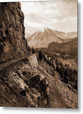 The Palisades, Alpine Pass, Colorado, Jackson, William Metal Print
