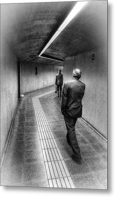 The Path Metal Print by Robert FERD Frank