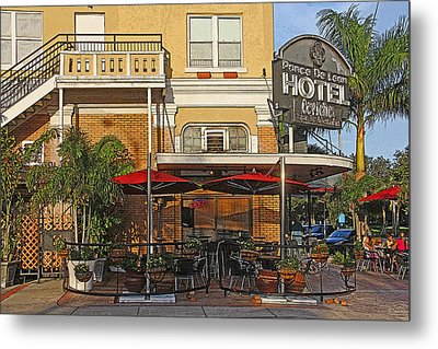 The Ponce De Leon Hotel Metal Print by HH Photography of Florida