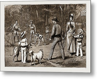The Prince Of Wales At Baden-baden, The Jubilee Metal Print
