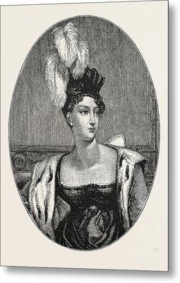 The Princess Charlotte Augusta Metal Print