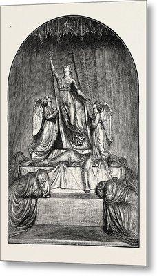The Princess Charlotte Monument. The Princess Charlotte Metal Print