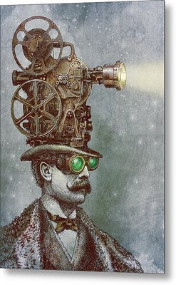 The Projectionist Metal Print by Eric Fan