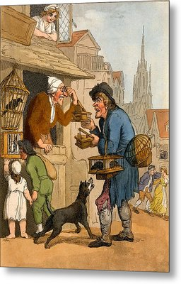 The Rat Trap Seller From Cries Metal Print