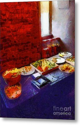 The Remains Of The Feast Metal Print by RC deWinter