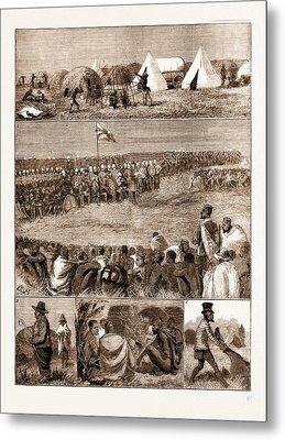 The Restoration Of Cetewayo, The Installation At Intonyanene Metal Print