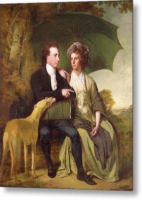 The Rev. And Mrs. Thomas Gisborne, Of Yoxhall Lodge Metal Print