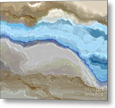 Metal Print featuring the digital art The River by Lena Wilhite