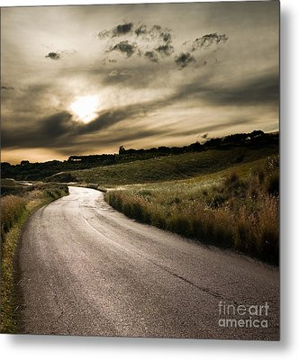 The Road Metal Print by Boon Mee