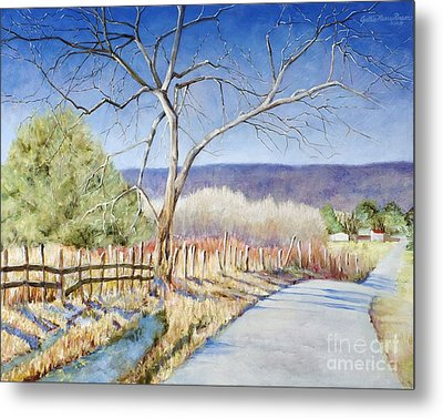 The Road Home Metal Print by Cynthia Parsons