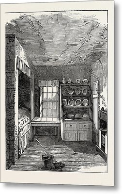 The Room In Which Livingstone Was Born, Blantyre Metal Print
