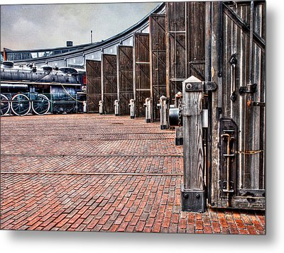 The Roundhouse Metal Print by Keith Armstrong