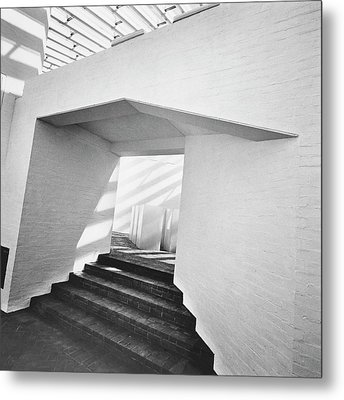 The Sculpture Gallery Of Architecture Philip Metal Print by Horst P. Horst