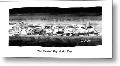 The Shortest Day Of The Year Metal Print