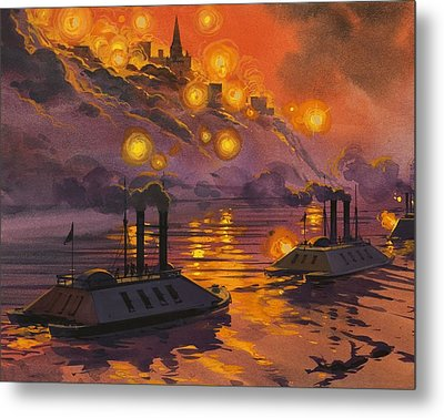 The Siege Of Vicksburg Metal Print