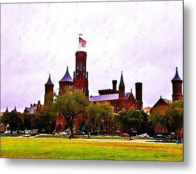 The Smithsonian Metal Print by Bill Cannon