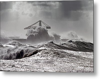 The Storm Metal Print by Boon Mee