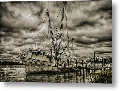 The Storm Metal Print by Steven  Taylor