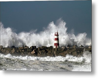 The Storm Wave Metal Print by Boon Mee