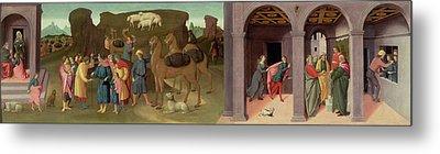 The Story Of Joseph, I Metal Print by Bartolomeo di Giovanni