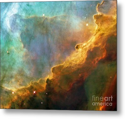 The Swan Nebula Metal Print