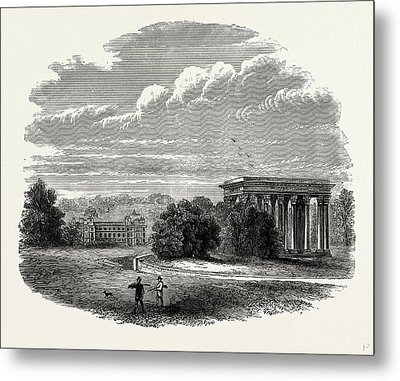 The Temple Of Concord, Audley End, Uk, England Metal Print