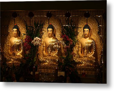 The Three Buddhas Metal Print by Brian Davis