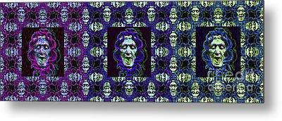 The Three Medusas 20130131 - Horizontal Metal Print