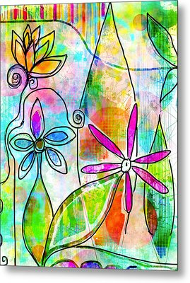 The Time To Bloom Metal Print by Robin Mead