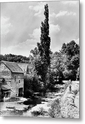 The Village Of Illiers-combray In France Metal Print