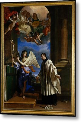 The Vocation Of Saint Aloysius Luigi Metal Print by Guercino