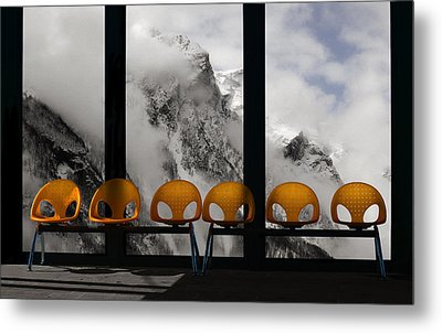 The Waiting Room Of Paradise Metal Print